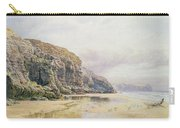 The Coast Of Cornwall  Carry-all Pouch by John Mogford