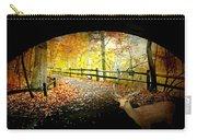Under The Cobble Stone Bridge Carry-all Pouch