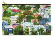 The Colors Of Reykjavik Carry-all Pouch