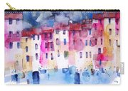 The Coloured Houses Of Portofino Carry-all Pouch