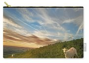 The Colours Of The Evening Carry-all Pouch by Angel  Tarantella