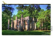 The Columns Old Sheldon Church Ruins Carry-all Pouch