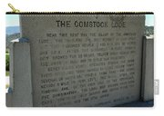 The Comstock Lode Marker Carry-all Pouch