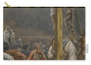 The Confession Of Saint Longinus Carry-all Pouch by Tissot