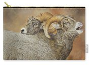 The Conquest - Bighorn Sheep Carry-all Pouch