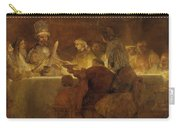 The Conspiracy Of The Batavians Under Claudius Civilis Carry-all Pouch