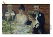 The Corner Of The Table Carry-all Pouch by Paul Chabas