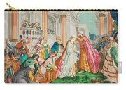 The Coronation Of Esther Carry-all Pouch