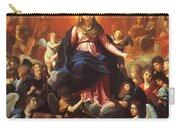 The Coronation Of The Virgin 1626 Carry-all Pouch