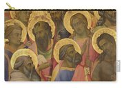 The Coronation Of The Virgin Carry-all Pouch by Lorenzo Monaco