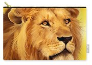 The Courageous Cecil - African Lion Carry-all Pouch