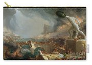 The Course Of Empire - Destruction Carry-all Pouch by Thomas Cole