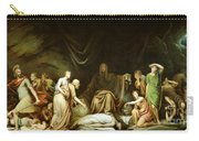 The Court Of Death Carry-all Pouch by Rembrandt Peale