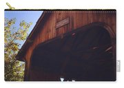 The Covered Bridge Carry-all Pouch