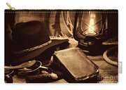 The Cowboy Bible Carry-all Pouch