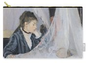 The Cradle Carry-all Pouch by Berthe Morisot