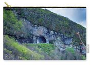 The Craggy Pinnacle Tunnel On The Blue Ridge Parkway In North Ca Carry-all Pouch