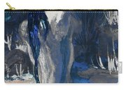 The Creekside Bath Of Alice In Royal Blue Carry-all Pouch