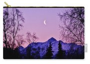 The Crescent Moon In Lavender Carry-all Pouch