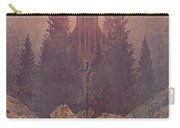 The Cross In The Mountains 1812  By Caspar David Friedrich 1774-1840 Carry-all Pouch