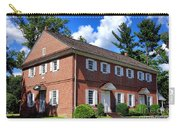 The Crosswicks Meeting House In Chesterfield  Carry-all Pouch