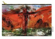 The Crucifixion #1 Carry-all Pouch by Michael Lucarelli