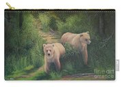 The Cubs Of Katmai Carry-all Pouch