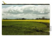 The Curve Of A Mustard Crop Carry-all Pouch