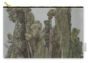 The Cypresses At The Villa D'este, Tivoli Carry-all Pouch