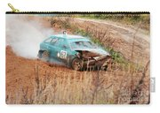 The Damaged Car In A Smoke Carry-all Pouch