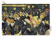 The Dance Hall At Arles Carry-all Pouch by Vincent Van Gogh