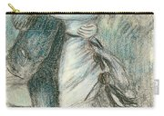 The Dance Carry-all Pouch by Pierre Auguste Renoir