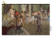 The Dancing Class Carry-all Pouch by Edgar Degas
