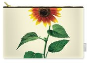 The Dancing Sunflower Carry-all Pouch