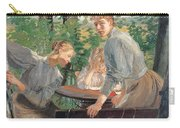 The Daughters Of The Artist In The Garden Carry-all Pouch