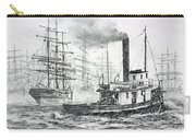 The Days Of Steam And Sail Carry-all Pouch