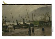 The De Ruijterkade In Amsterdam Amsterdam, October 1885 Vincent Van Gogh 1853  1890 Carry-all Pouch