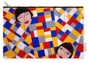 The De Stijl Dolls Carry-all Pouch by Tara Hutton