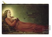 The Death Of Germaine Cousin The Virgin Of Pibrac Carry-all Pouch