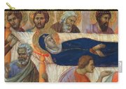 The Death Of Mary Fragment 1311 Carry-all Pouch