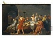 The Death Of Socrates Carry-all Pouch
