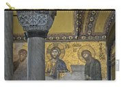 The Deesis Mosaic With Christ As Ruler At Hagia Sophia Carry-all Pouch