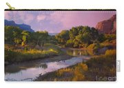 The Delores River At Gate Way Colorado Carry-all Pouch
