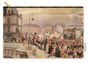 The Departure Of The Volunteers 1792 Carry-all Pouch by Jean Baptiste Edouard Detaille