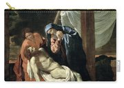 The Deposition Carry-all Pouch by Nicolas Poussin