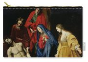 The Descent From The Cross Carry-all Pouch by Nicolas Tournier