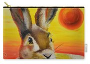 The Desert Hare Carry-all Pouch