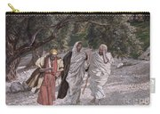 The Disciples On The Road To Emmaus Carry-all Pouch