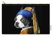 The Dog With A Pearl Earring Carry-all Pouch