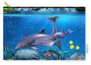 The Dolphin Family Carry-all Pouch